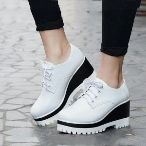 Sepatu Wanita Boots Wedges Sbo319 Tokopedia