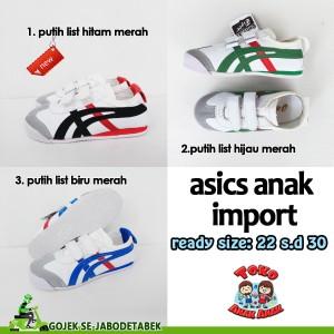 Asics Onitsuka Tiger Anak Sepatu Casual Kets Jalan Jalan Pergi Tokopedia