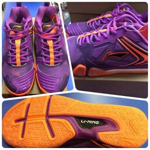 Sepatu Badminton Lining Ayal 033 Tokopedia
