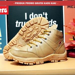 Kickers Boots Safety Tan Tokopedia