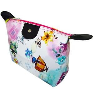 Promo Styled Make Up Pouch Tas Kosmetik Daun Biru Acc01388 Tokopedia
