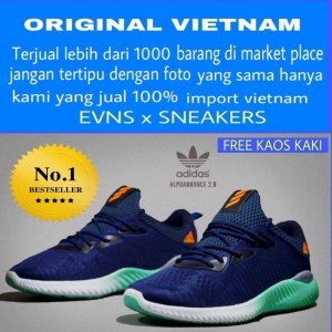 Sepatu Adidas Alphabounce Men New Sport Running Tokopedia