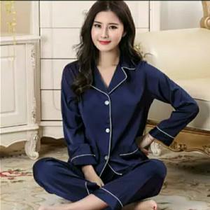 Baju Tidur Piyama Bahan Satin Polos Model Daster Harga Grosir Murah Tokopedia
