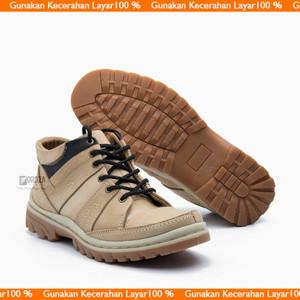 Sepatu Boot Pria Bks02dr Tokopedia
