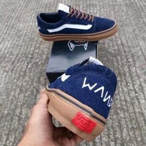 Jual Sepatu Sneakers Pria Vans OS Golf Wang Syndicate Navy G Limited a1695222df
