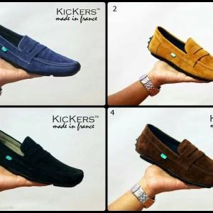 Sepatu Pria Kickers Slop Suede Tokopedia