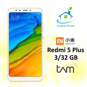 Xiaomi Redmi 5 Plus 3 32gb Grs Tam Tokopedia