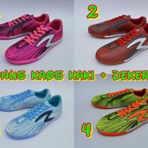 Sepatu Futsal Specs Bonus Kaos Kaki Deker Dan Tas Tokopedia