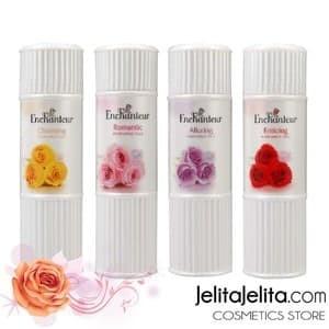 Terlaris Bedak Parfum Enchanteur Perfumed Talc Alluring Purple Kosmetik Tokopedia