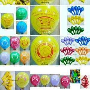 Balon Sablon Custom Tokopedia