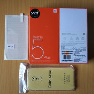 Xiaomi Redmi 5 Plus 3 32 Garansi Resmi Tam Tokopedia