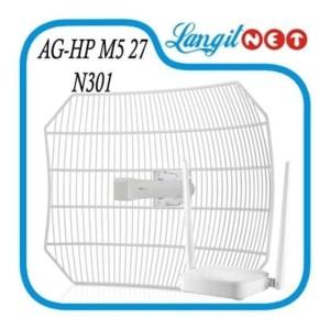 Airgrid M5 Hp 17x24 27dbi 5 8ghz 350mw Tokopedia