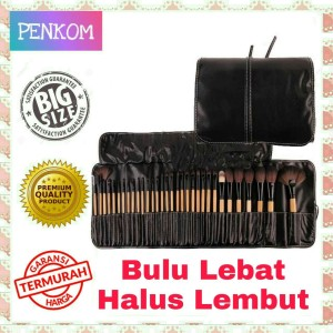 Brush Makeup 32 Set Kuas Make Up 32 Set Dengan Pouch Brush Kosmetik 32 Set Tokopedia