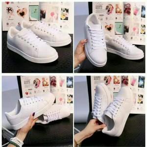 Sepatu Sneakers Putih Pori Tokopedia