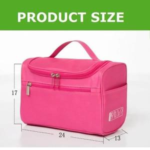 Storage Travel Wash Bag Toiletry Cosmetic Bag Tas Kosmetik Tokopedia