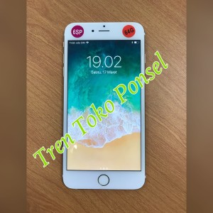 Iphone 6s Plus 64gb Rose Gold Bonus Shining Chrome Ume Original Tokopedia