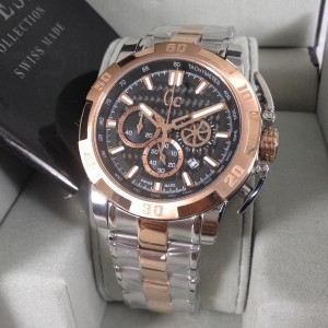 Guess Collections Gc X11001g2s Silver Rosegold 47mm Original Tokopedia