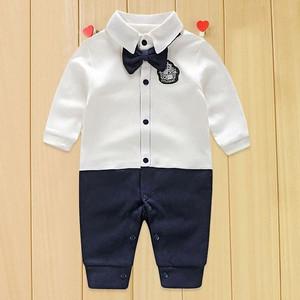 Baju bayi laki laki /Romper dasi lakilaki / Setelan baju bayi lakilaki