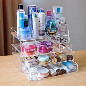 Acrylic Makeup Tempat Kosmetik Akrilik H Tokopedia