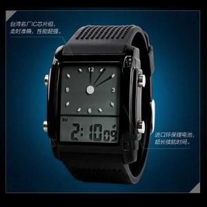 Jam Tangan Pria Digital Trendy Skmei 0814 G Original Tokopedia
