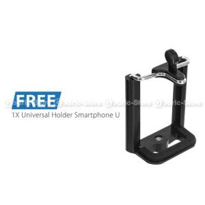 Universal Mini Tripod With Holder Smartphone Traveling Tripod Tokopedia