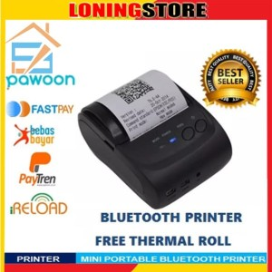 Zjiang Bluetooth Thermal Printer Tokopedia