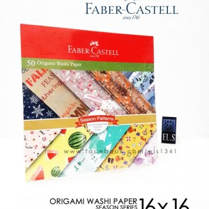 Faber Castell Origami Washi Paper - Season Patterns