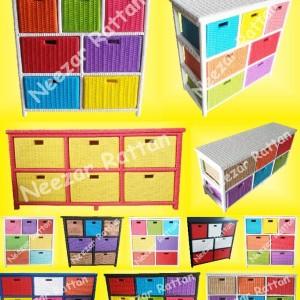 Jual Rak Lemari Laci Filling Cabinet Kantor Plastik Kosmetik Kecil Tokopedia