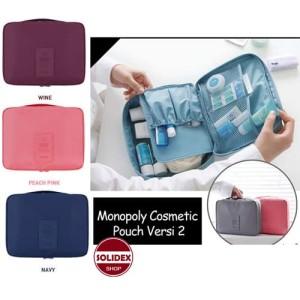 Tas Kosmetik Multi Pouch Travel Bag Serbaguna Tokopedia