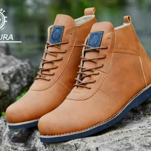 Sepatu Boots Moofeat Pentura Tokopedia