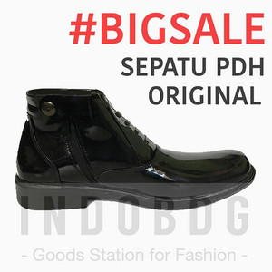 Sepatu Pdh Mengkilap Original Tokopedia