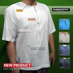 Baju Koko Lengan Pendek Tokopedia