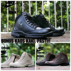 Sepatu Safety Boot Cream Tokopedia