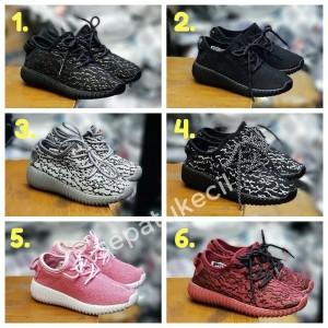 Sepatu Adidas Yeezy Kids Anak Sekolah Kets Sneakers Tokopedia