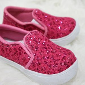 Sepatu Anak Balita Perempuan Brukat Pink Tokopedia