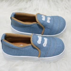Sepatu Anak Laki Laki Denim Boots Tokopedia