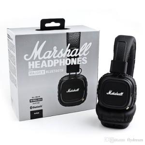 Marshall Major II Bluetooth Headphone (BONUS POUCH)