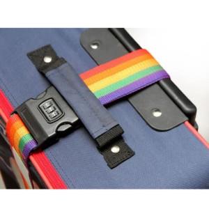 Jual Tali Koper Gembok / Luggage Strap Model PIN /Pengaman Tas Travel -X159