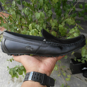 Sepatu Kulit Sepatu Lacoste Sepatu Pria Tokopedia