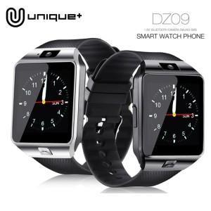 Jam Tangan Smart Watch Dz09 U9 Jam Tangan Hp Warna Full Hitam Tokopedia