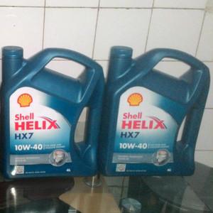 Oli Hx7 Tokopedia Beli Di Dijual Oleh Shell Sae 10w40 Galon 4 Liter