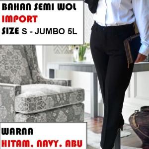 Celana Kerja Wanita Celana Kantor Celana Wanita Celana Formal Tokopedia