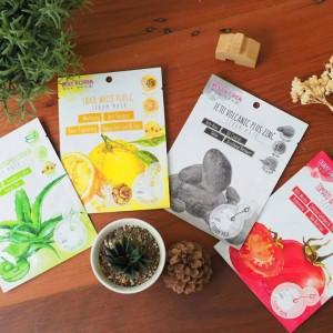 Best Korea Cotton Serum Mask Kosmetik Bangkok Tokopedia