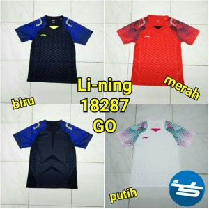 Kaos Baju Badminton Bulutangkis Li Ning Linning Setelan Dewasa Tokopedia