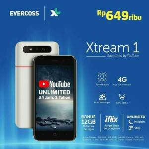 Resmi Evercoss Xtream 1 S45 1 8gb Tokopedia