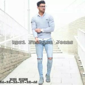 Celana Jeans Pria Skinny Big Size Murah Tokopedia
