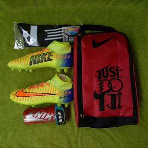 Paket Komplit Sepatu Bola Nike Size 39 43 Tokopedia