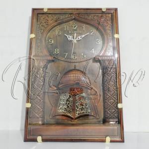 Jam Dinding Kaligrafi Jam Masjid Kaligrafi Diamon Medium Tokopedia