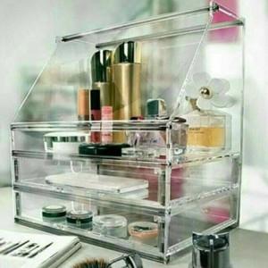 Tempat Kosmetik Akrilik Acrylic Organizer A1 Tokopedia