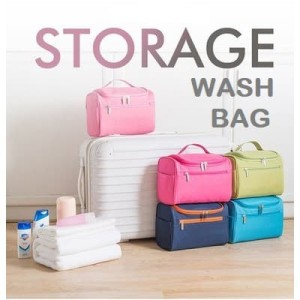 Storage Travel Wash Bag Toiletry Cosmetic Bag Tas Kosmetik Tokopedia